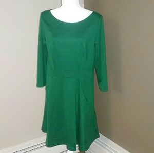The Limited Green Jersey Dress